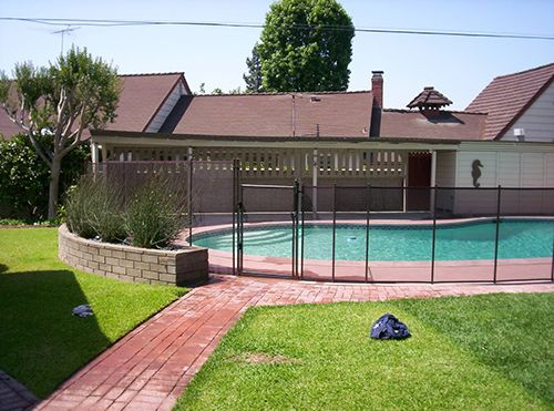 Pool Fence Color Choices from Safe Defenses Las Vegas