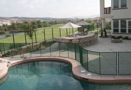 Pool safety fences from Safe Defenses Las Vegas