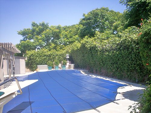 Solid winter pool covers from Safe Defenses Las Vegas