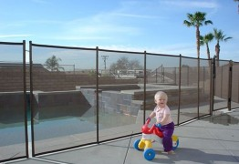 Toddler Safe Next to Pool Fence