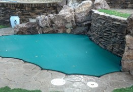 mesh leaf pool cover las vegas safe defenses