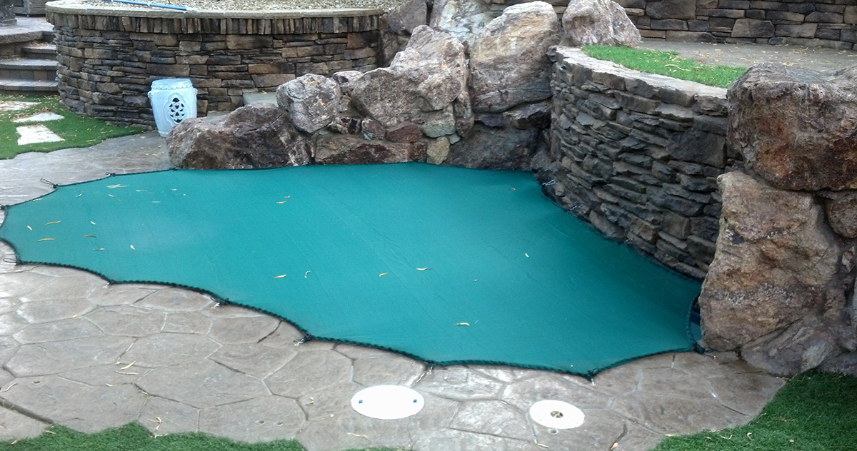mesh leaf pool cover safe defenses las vegas