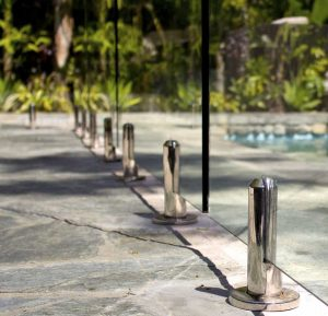 Glass Swimming Pool Posts