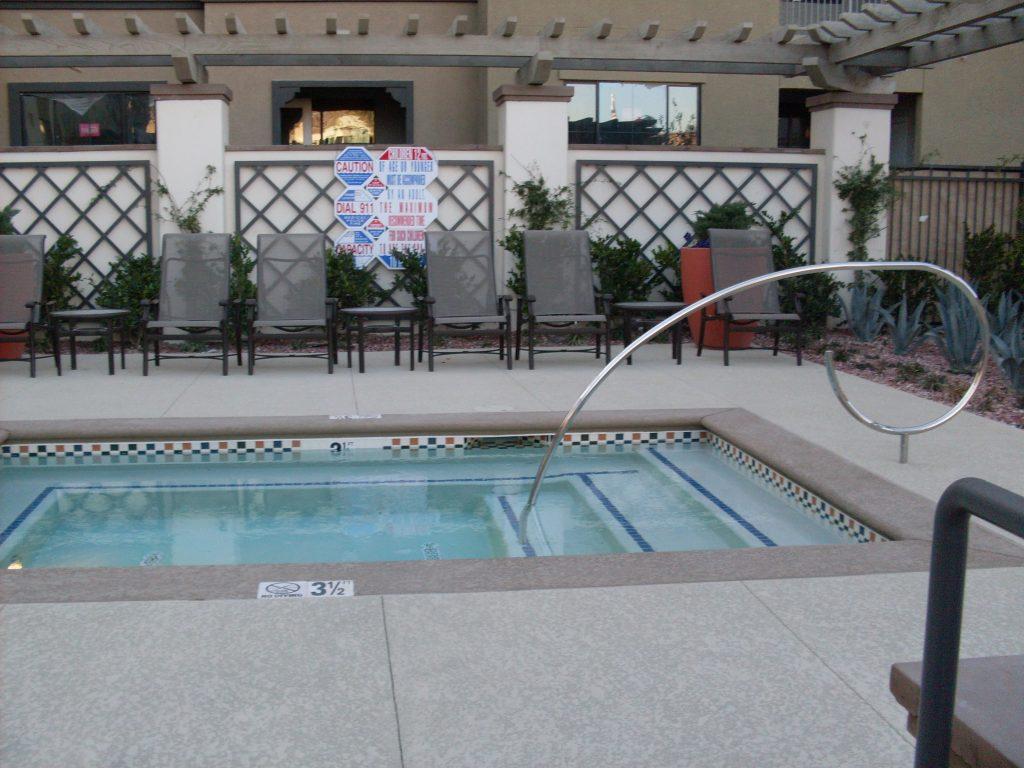 Handrails Installed at Las Vegas Apartment