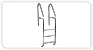 Cross Braced Ladder for Swimming Pool