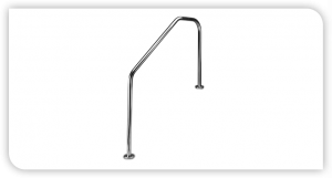 D3S 3 Bend Swimming Pool Side Rail