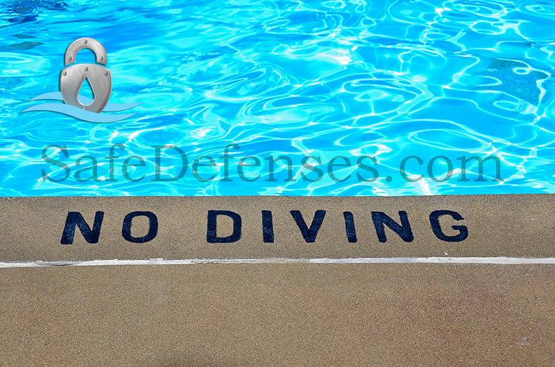 No Diving From Deck