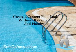 Pool Grab Bar and Ladder