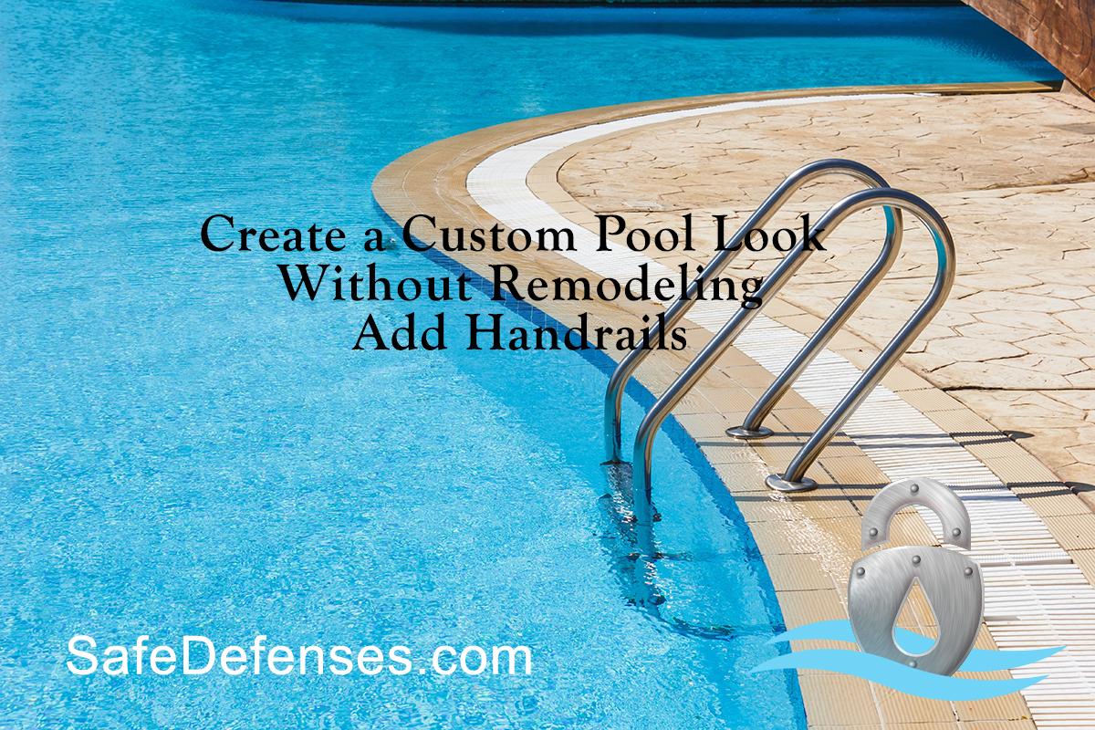 Pool Grab Bar and Ladder