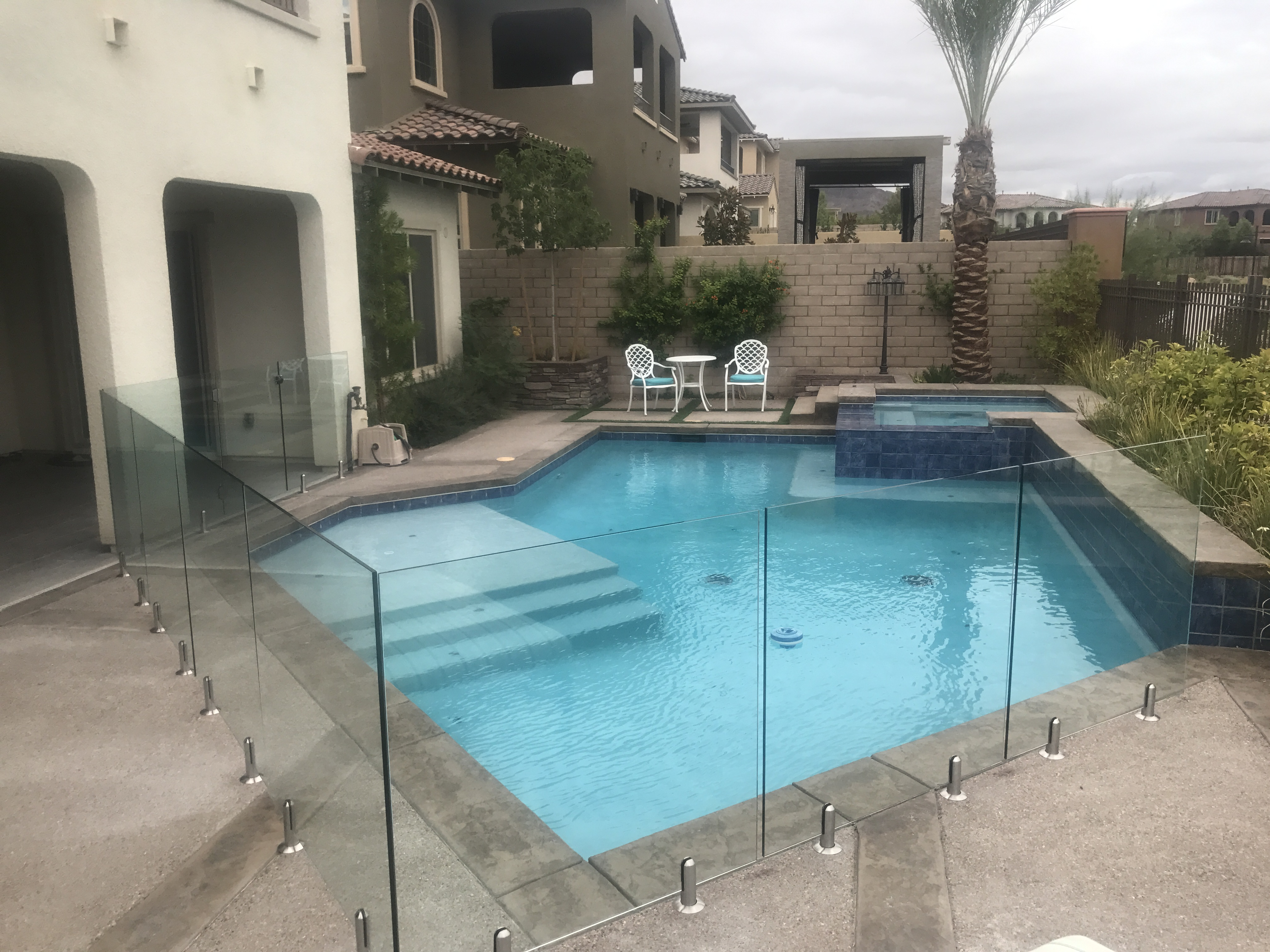 Glass Pool Safety Fences Installed By Safe Defenses