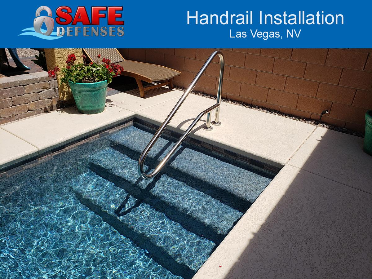 Handrail installation Las Vegas